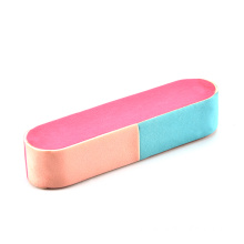 Fesyen Mini alat kuku manicure tumble down a Sponge Nail file double-sided polishing sand bar