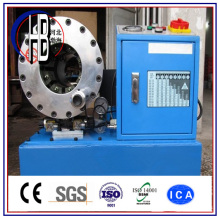 Menor preço de alta qualidade imprensa máquina de friso de mangueira hidráulica