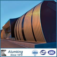 Bobine en aluminium revêtue de couleur Feve / Epoxy pour toiture