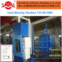 Machine de soufflage de sable de Multi-Guns de contrôle de PLC