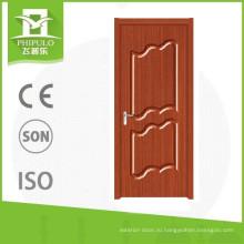 2017 последние деревянные двери ПВХ дизайн из Китая