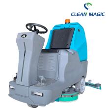 Automatischer Bodenwäscher mit Industriebatterie