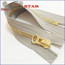 #10 Big Teeth Gold Zipper for Garments