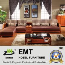 Wooden Base Fabric Material Sofa Set (6602# -1 sofa set)