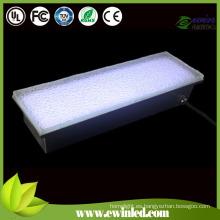 Ladrillo de cristal templado del LED 10 * 20cm con RGB