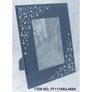 Portaretrato de vidrio acrílico