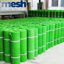 White or green Plastic flat breeding mesh net for chicken cage