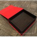 Caixa de presente de embalagem de carimbo a carimbo a quente personalizada de luxo