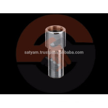 Messingnippel für Rohrlänge Verkleinern oder Verlängern