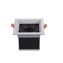 Doppelkopf GU10 Fitting Grille Einbauleuchte