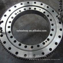 Rolamento de baixo torque para peças de guindaste sobre esteiras
