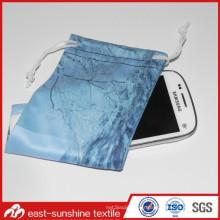 Sac de microfibre à cordes de haute qualité pour téléphone mobile