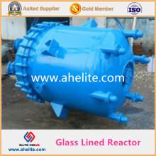 Reactor revestido de vidrio Recipiente revestido de vidrio Reactor con diferentes tipos de agitador y chaqueta