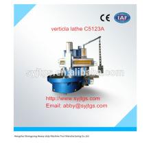 Preço de torno vertical usado C5123A em estoque para venda quente