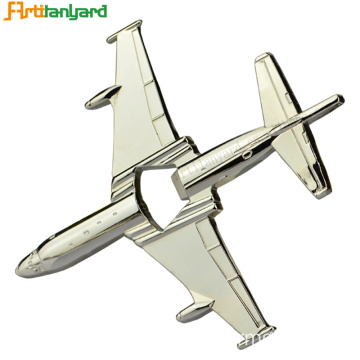 Bottle Opener With Aircraft Shape