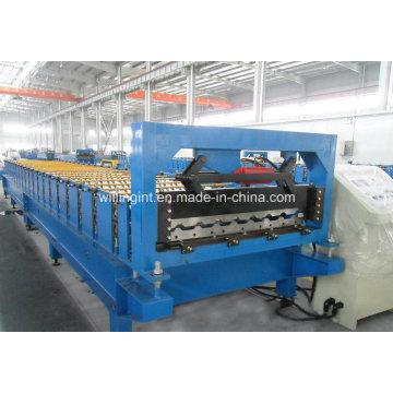 Machine de formage de rouleaux automatique pour toiture