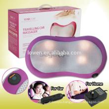 Infrared Heating Shiatsu Massage Cushion Neck Rotating Knead Pillow Home & Car