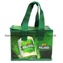 PP a todo color impreso PP laminado no tejidos reutilizables Cooler bolsa de promoción
