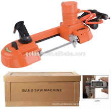 New Portable Mini Power Speed Variable Metal/Steel/Wood Cutting Pneumatic Band Saw Cutting Machine Price