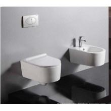 P-Trap Washdown Wall Hung Toilet (W1048)