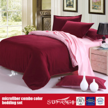 100gsm в сплошной Цвет комбо лист микрофибры кровать