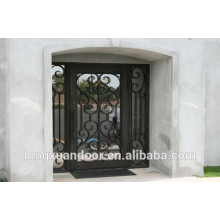 China supply wrought iron double entry doors                                                                         Quality Choice
