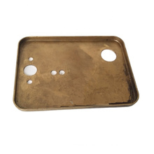 custom made brass stamping part as per drawings or samples polished small brass stamping part
