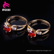 La última joyería de los anillos de las mujeres de la piedra preciosa del diseño