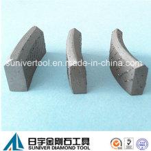 Segmento de diamante núcleo broca para concreto armado (SUCDS)