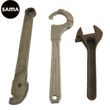 Carbon, Alloy, Stainless Steel Spanner Casting for Hardware