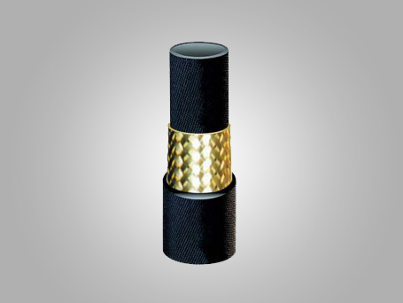 Three layers Steel Wire Braided Rubber Pipe