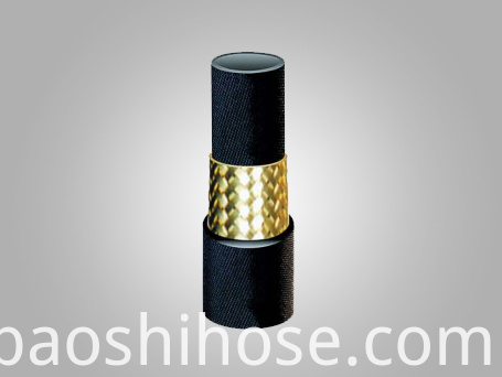 High Pressure Single Steel Wire Braided Reinforcement Steel Braided Rubber Hose