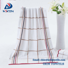 Promotional 100% Pakistan cotton bath towel, high quality hotel towel made in China