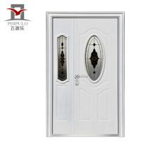 Venta directa de fábrica Puerta barata Puerta de seguridad de acero