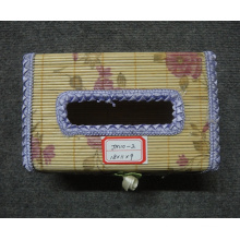 (BC-NB1033) High Quality Handmade Natural Bamboo Facial Tissue Box