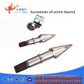 Cabeza de tornillo de anillo de tornillo de barril de tornillo de máquina de moldeo por inyección de plástico