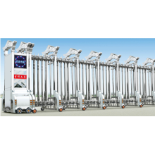 Раздвижные автоматические электрические откатные ворота