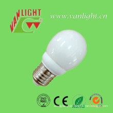 Mini tipo globo forma CFL 7W (VLC-MGLB-7W)