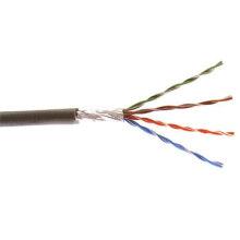 FTP Cabo Cat5e Ethernet com cobre sólido e CCA