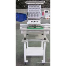 Máquina de coser de bordado para el casquillo y máquina de bordar de punto plana