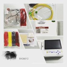 EKG 6012 Meditech Canali Con Monitor / Memoria 1000 Casi