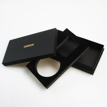 Black Paper Box with EVA Insert for Cosmetics