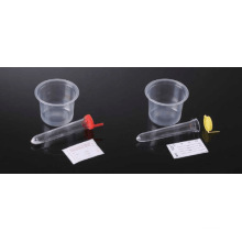Conjunto de coleção de urina com Snap Cap Tubo de sedimento de urina