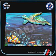 2D ULUA fish shape fridge magnet