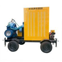 Mobile Diesel Enginne Trash Dewatering Pump