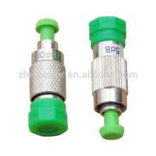 FC / APC Fêmea a fibra óptica masculina Attenuater, FC / UPC Fêmea a fibra óptica masculina Attenuater, fc fêmea ao atenuador masculino