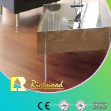 Commercial 8.3mm E1 HDF Embossed Walnut U-Grooved Laminate Floor