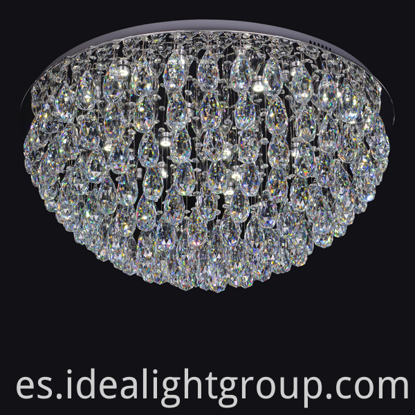 round ball crystal chandelier