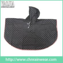 Yj-6131 Bulk Red Black Camping Plus Size Cool Youth Rain Ponchos Cape