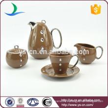Уникальный новый керамический пользовательский набор чая с дизайном бриллианта